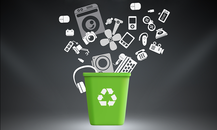 how to wipe gadgets before recycling