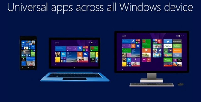 Universal apps windows 10