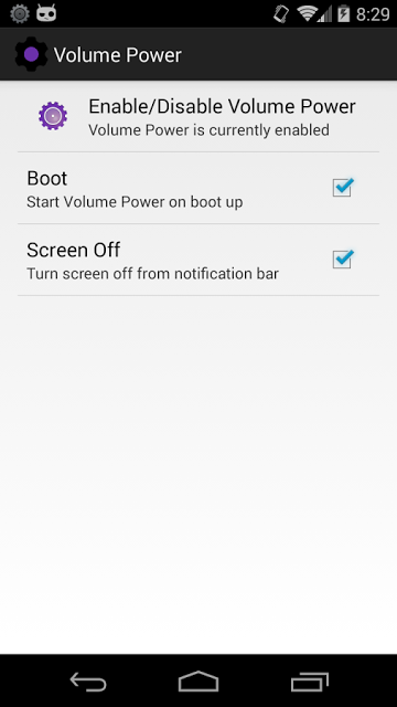 how to wake up android phone without power button