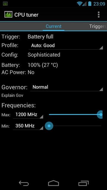 CPU Tuner