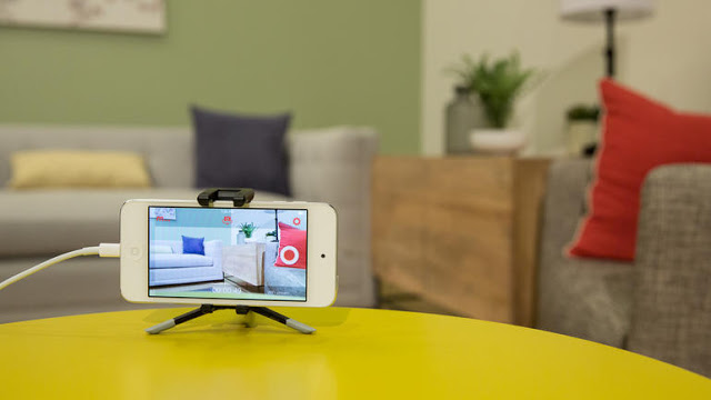 Use your smartphone as a security camera