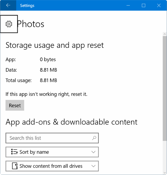 Windows 10 photos app opening slowly in pic 2