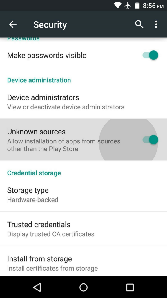 allow-installation-of-third-party-apps-android