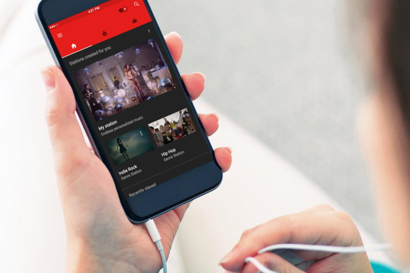 how to play youtube videos in background on android iphone youtube premium