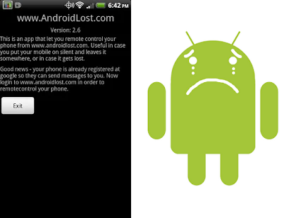 how to retreive lost android phone lost app