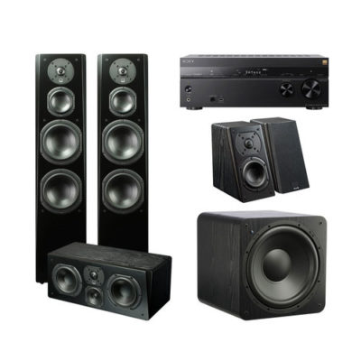 Focal Aria 5.1.2 Home Theater System with Marantz SR7013 9.3 Channel AV Receiver