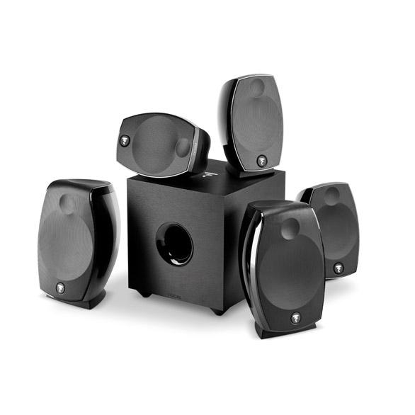 Focal Sib Evo 5.1.2 Home Cinema System with Yamaha RX-A780 AV 7.2 Channel Receiver