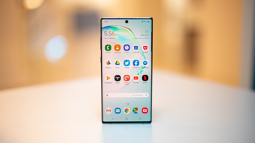 Galaxy Note 10 smartphone
