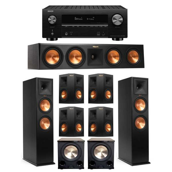 Klipsch 7.2 Sys 2 RP 280F best-home theater