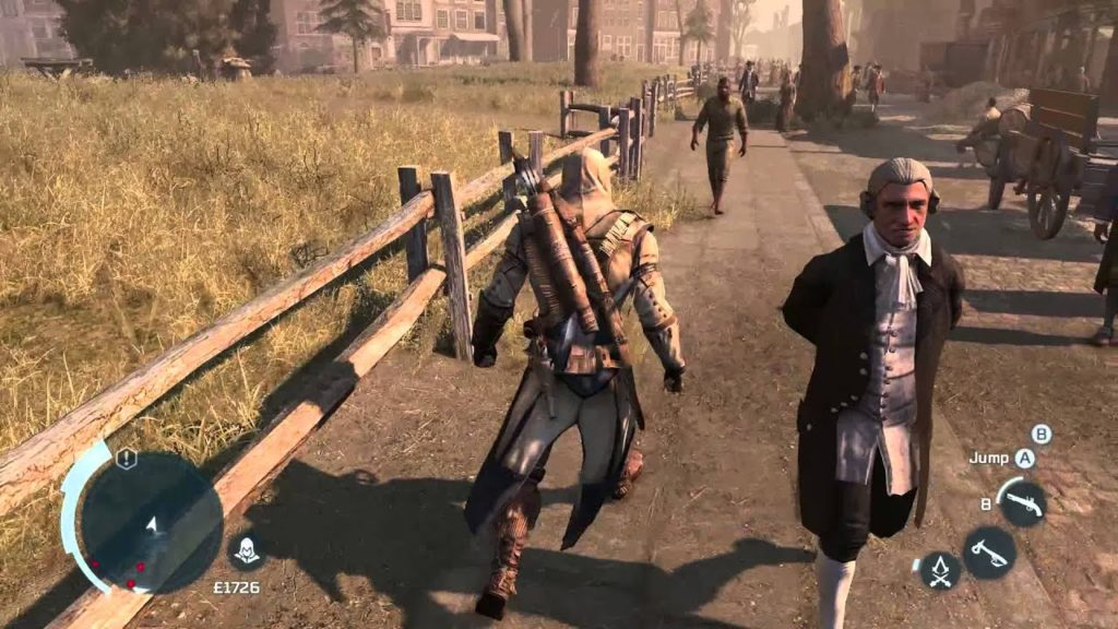 assasins creed 3 open world