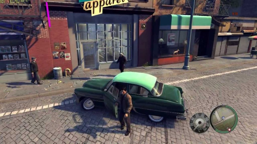 mafia 2 gameplay open world game