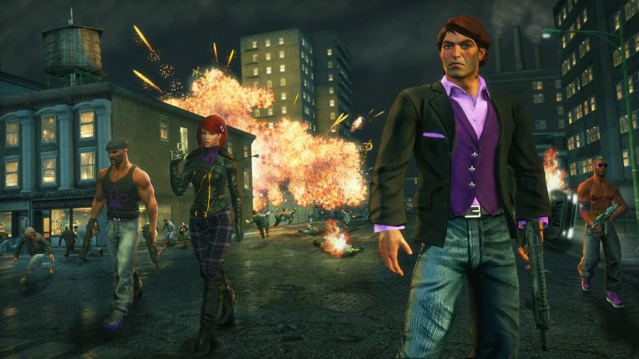 saints row the third open world game