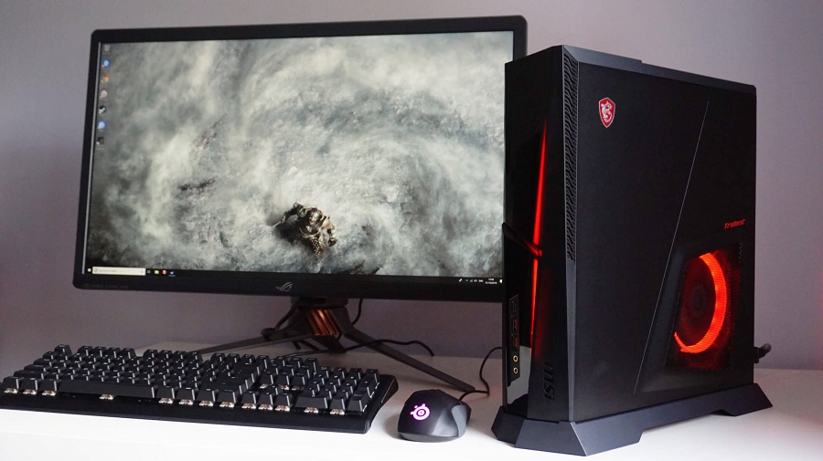 MSI Trident X prebuilt gaming pc