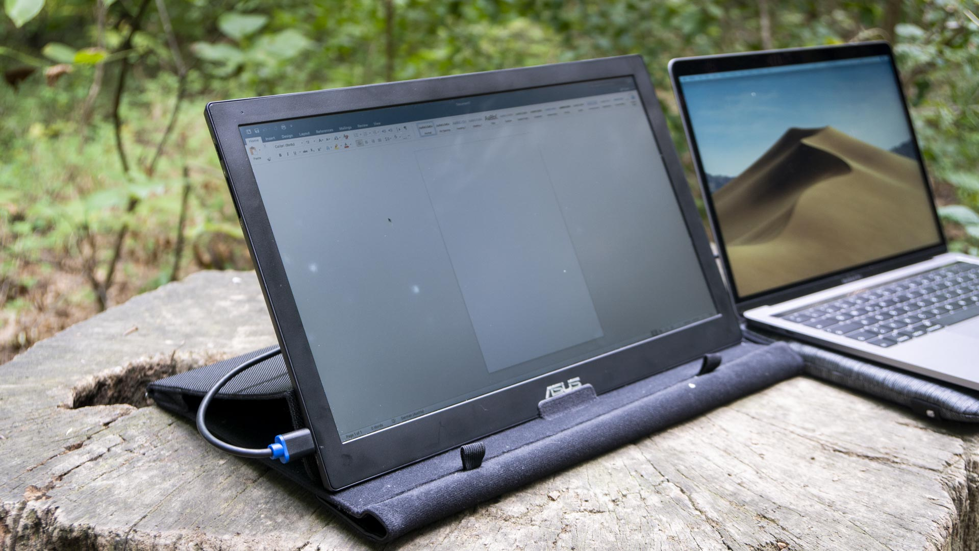 Asus MB169B+ portable monitor for macbook pro