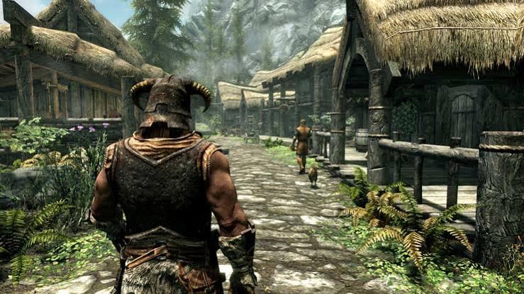 Elder scrolls v skyrim pc game