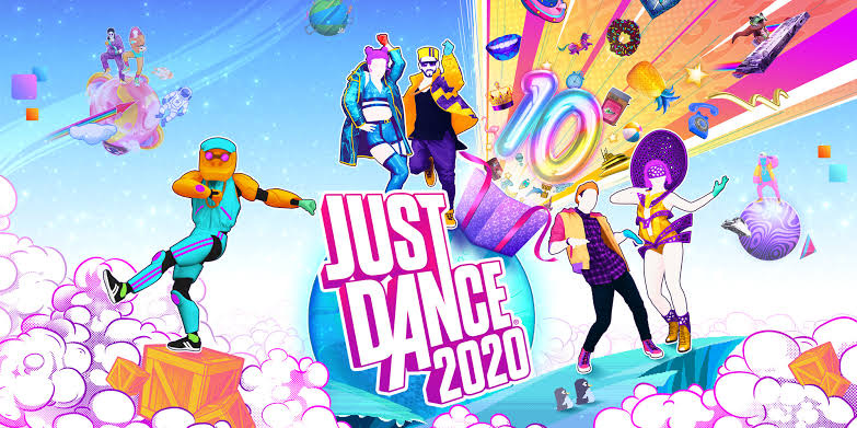 Just Dance 2020 console game for kids