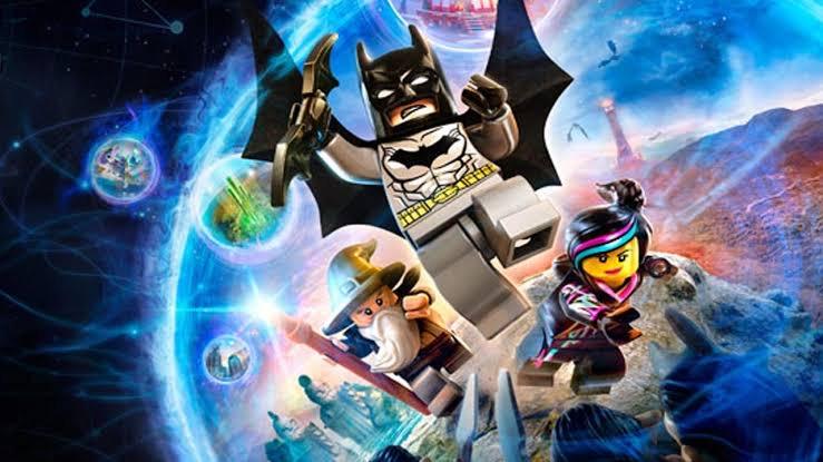 Lego Dimensions console game for pre school kids