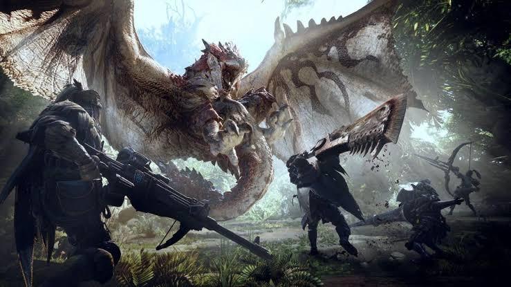 Monster hunter world pc game