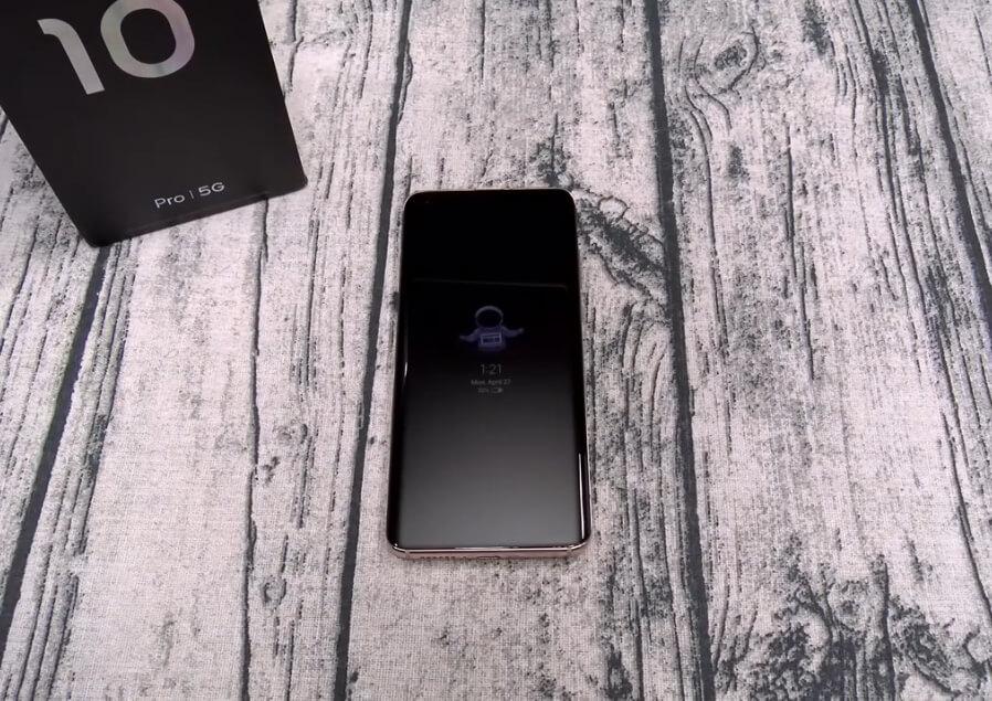 Xiaomi mi 10 pro display