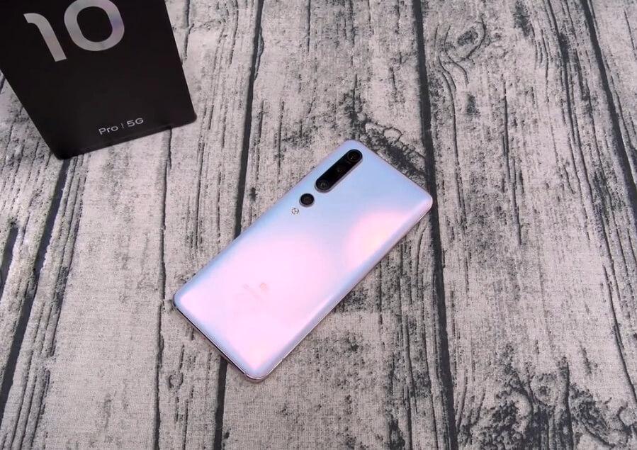 Xiaomi mi 10 pro rear