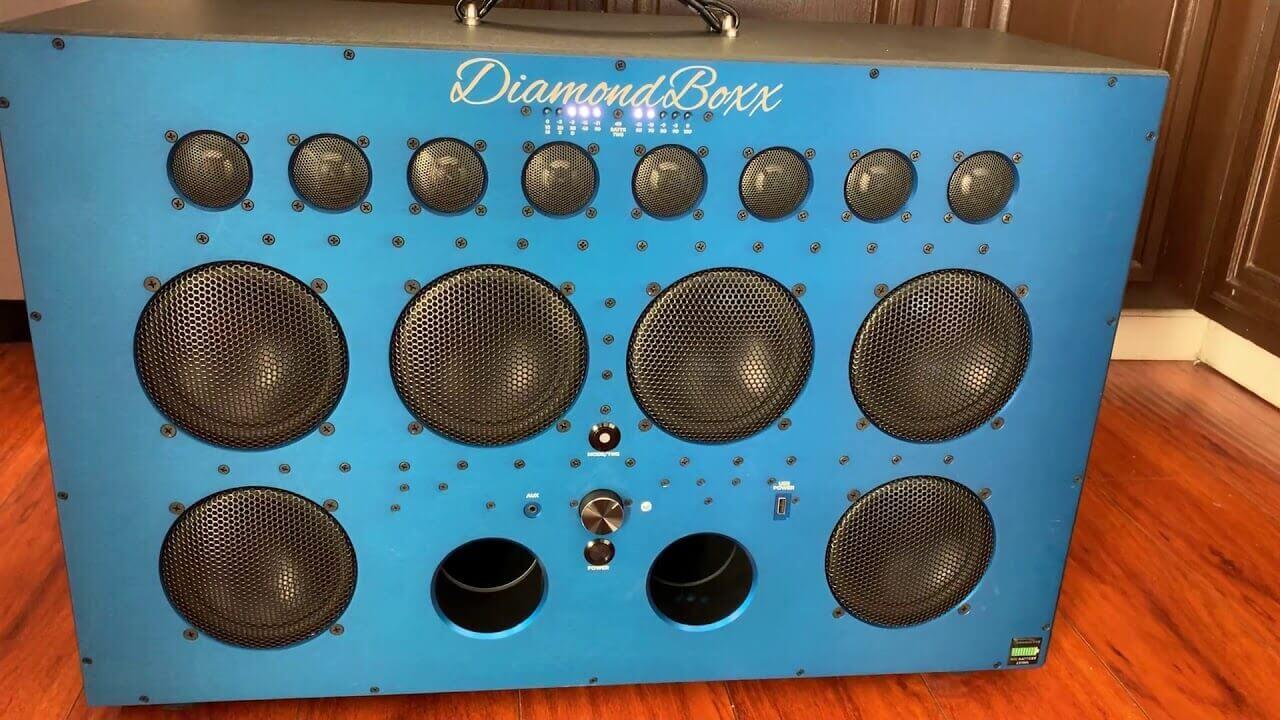 Diamondbox xl2 speaker for house party