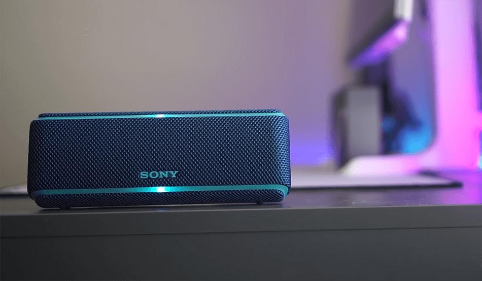 Sony SRS XB21 bluetooth speaker
