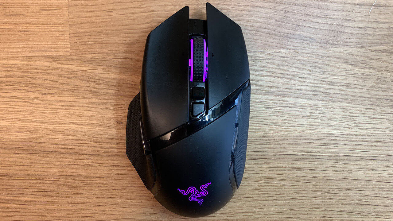 Razer basilisk ultimate wireless gaming mouse for fps games