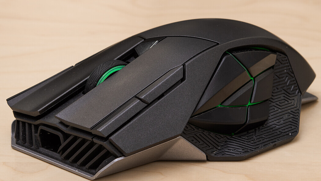 rog spatha wireless gaming mouse fps gaming