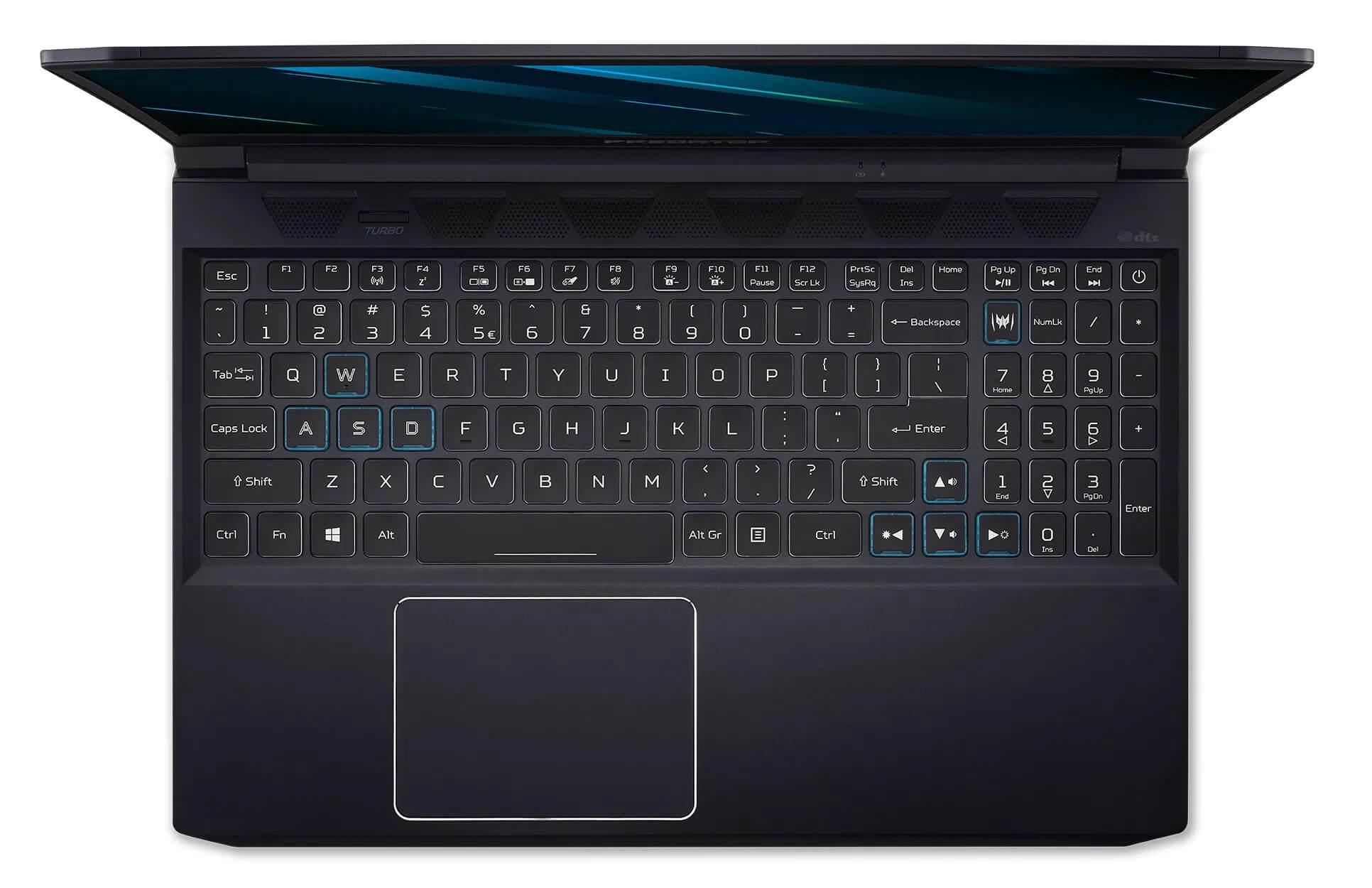 Acer Predator Triton 300 vs helios 300 keyboard