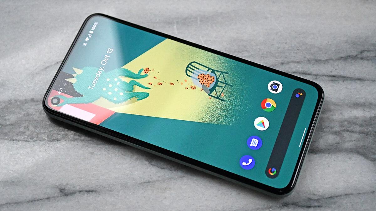 google pixel 5 best smartphone for developers programmers