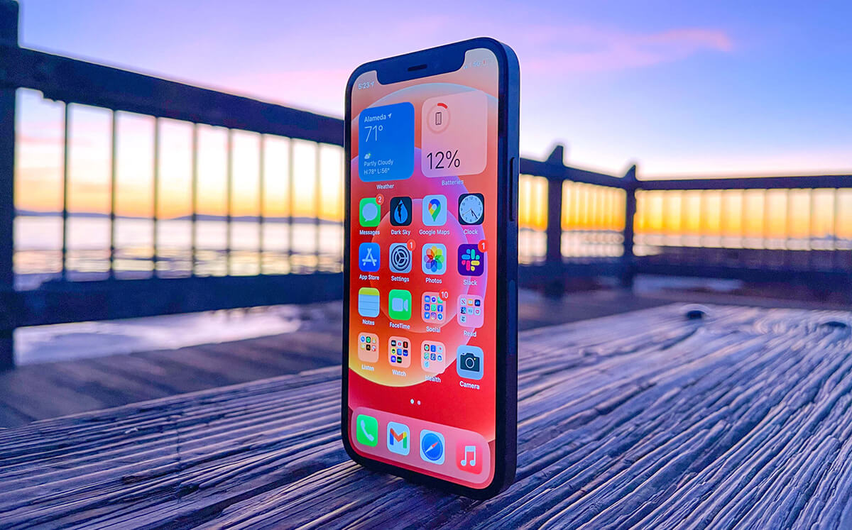 iphone 12 mini best phone for developers