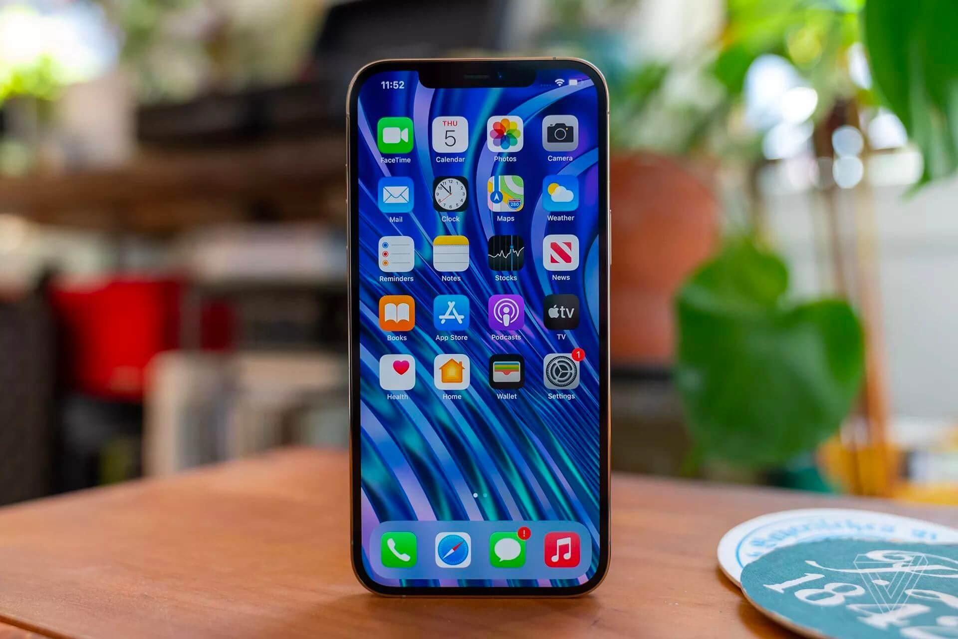 iphone 12 pro max developers smartphone